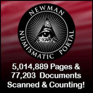 Newman Numismatic Portal Logo and active link